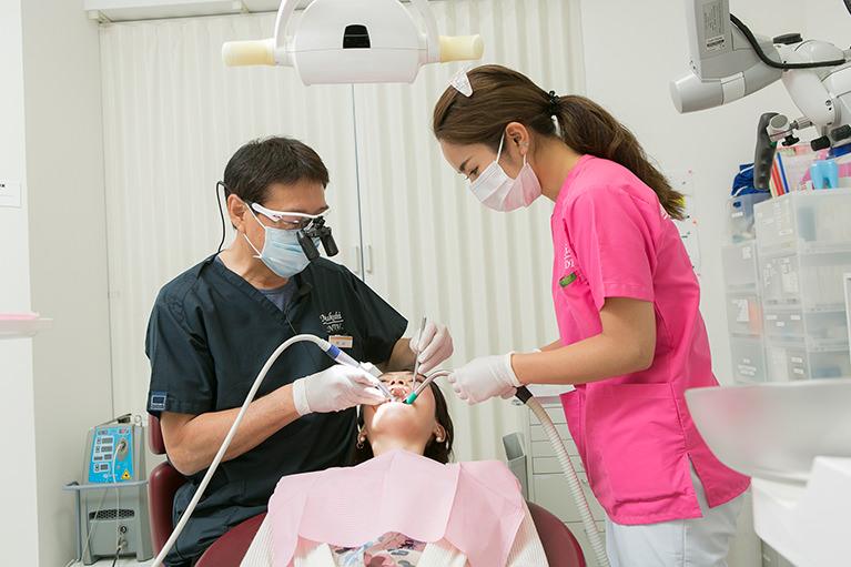 三越栄歯科室の口臭治療の特徴