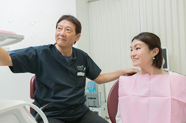 歯を削らない、抜かない、痛くない、を意識した治療をしています