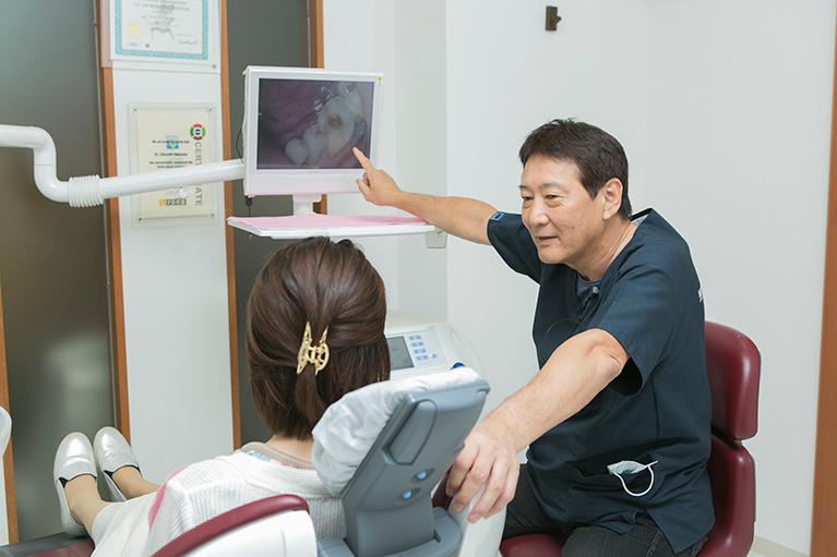検査で口内の状況を把握すれば予防に対する意識が高くなります